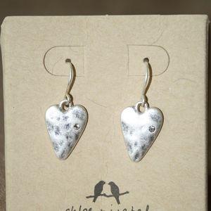 Take Heart Drop Earrings